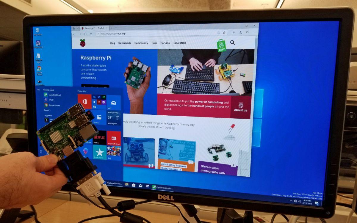 Raspberry Pi 4 Windows 10
