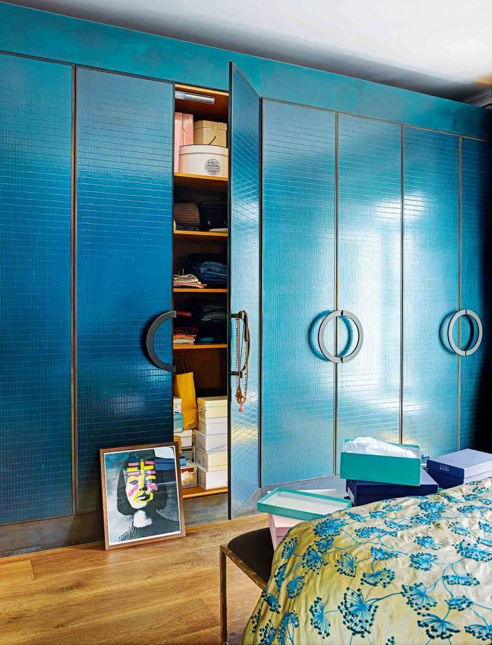 Bedroom Storage Ideas And Stylish Built-In Fitted Wardrobe ...