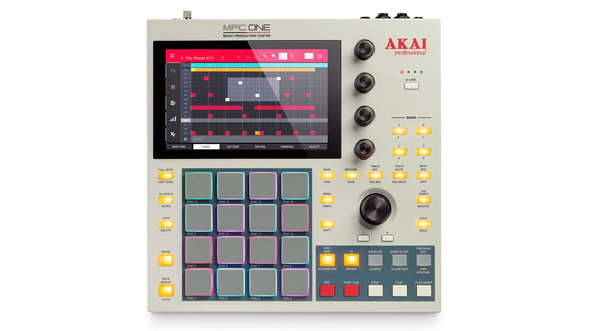 Akai goes old-school with the '80s-style MPC One Retro music production box