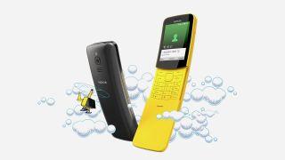 WhatsApp slides onto the Nokia 8110 4G phone | TechRadar