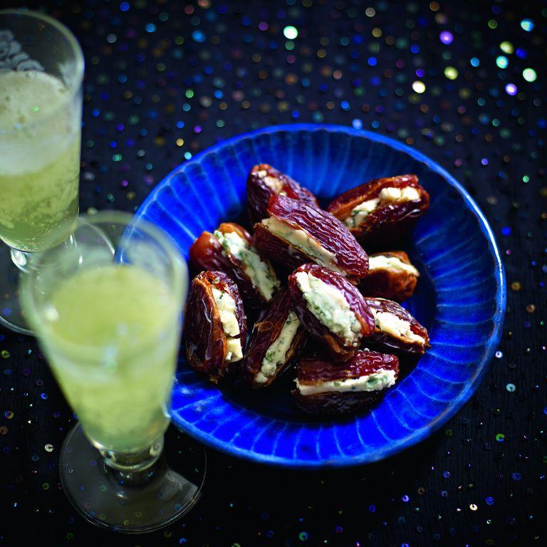 Medjool Dates and roquefort