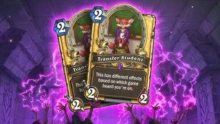Hearthstone golden Transfer Student