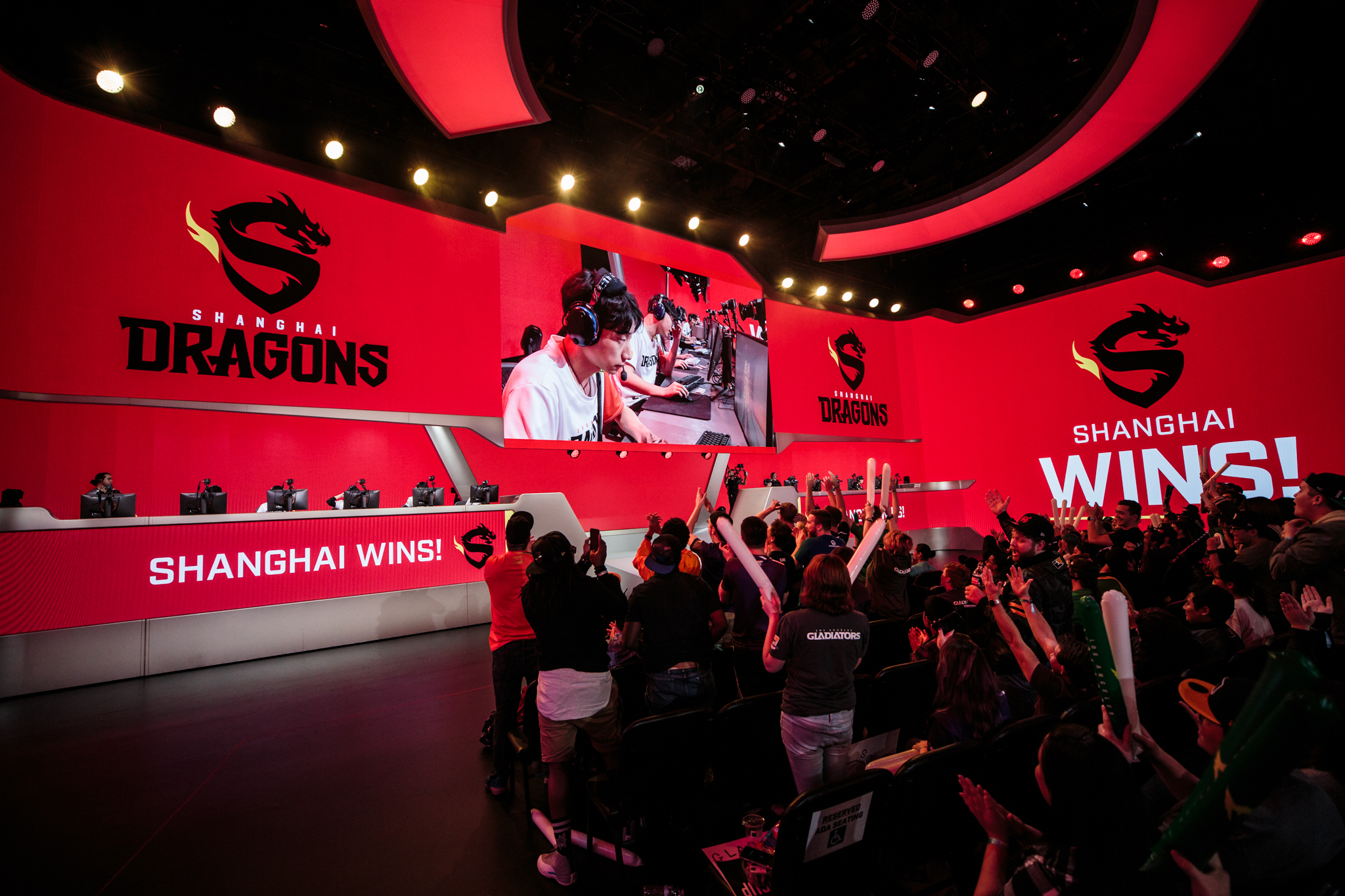The Shanghai Dragons have won their first Overwatch League match