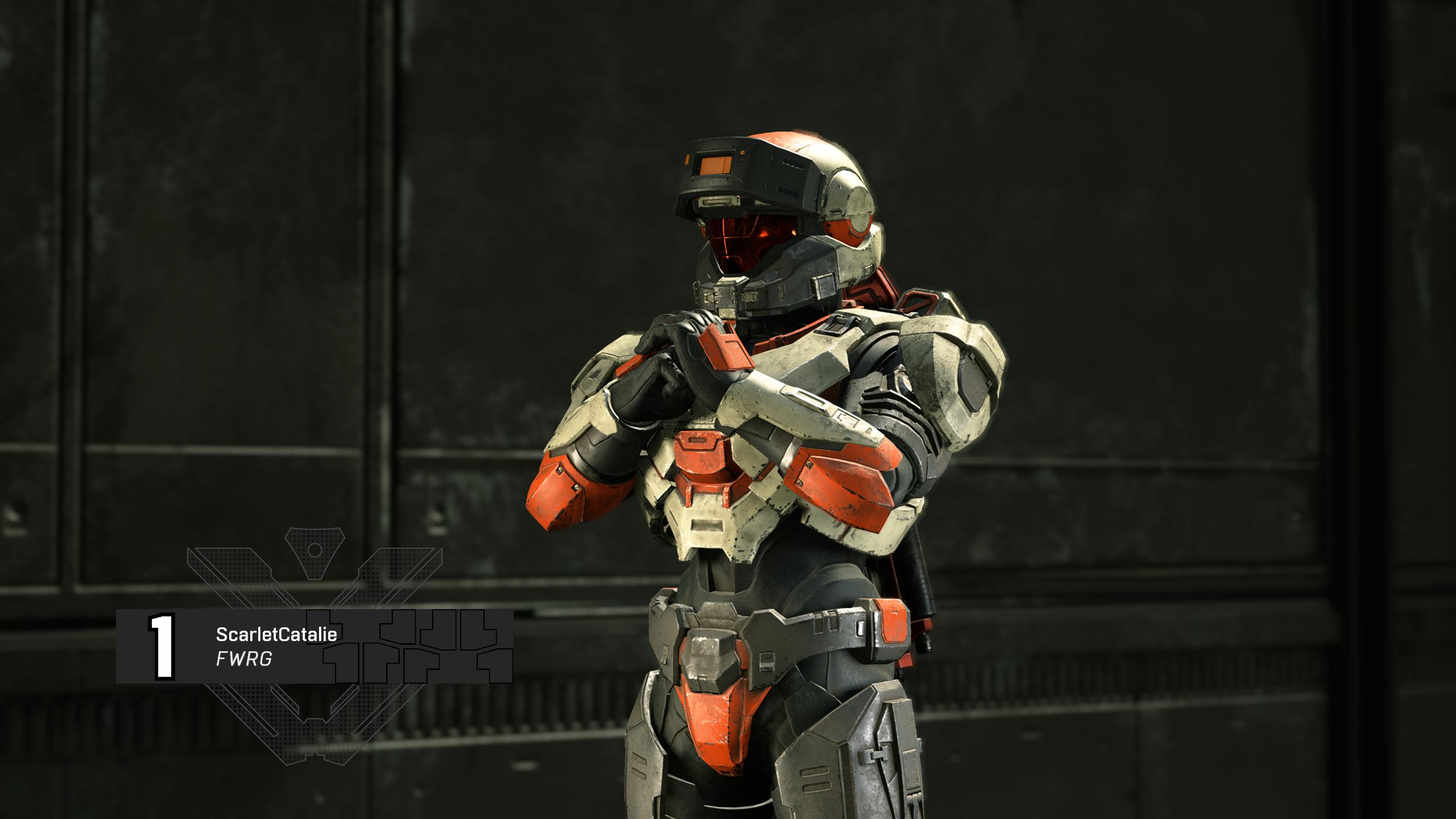 A Halo spartan cracks their knuckles