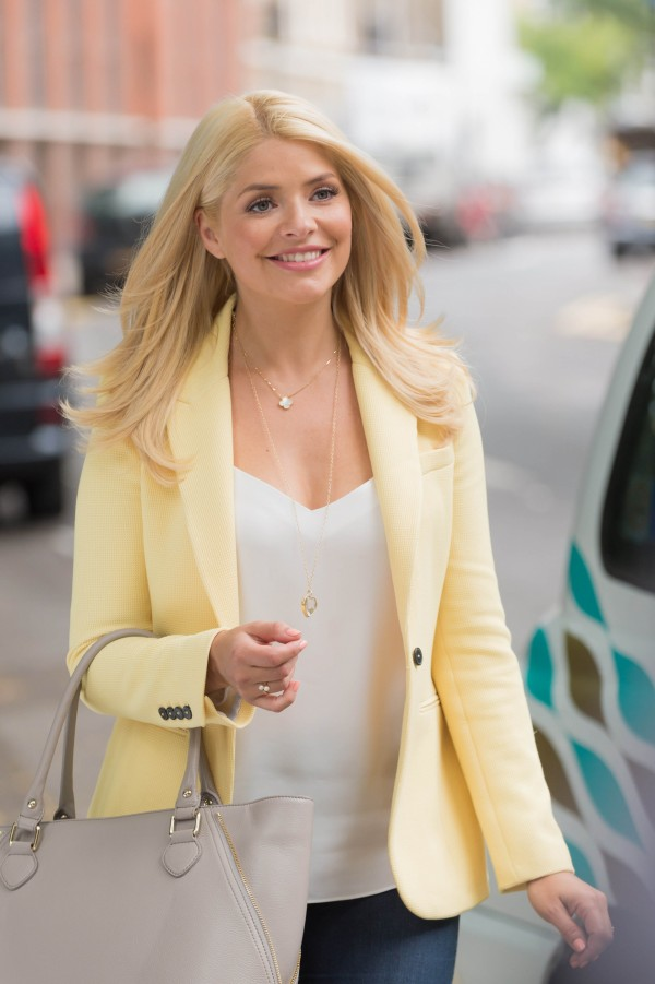 Holly is back from maternity leave (ITV Pictures)