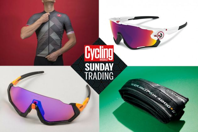 27255ba809 Sunday trading  Big discounts on Oakley glasses and Castelli spring and  summer kit