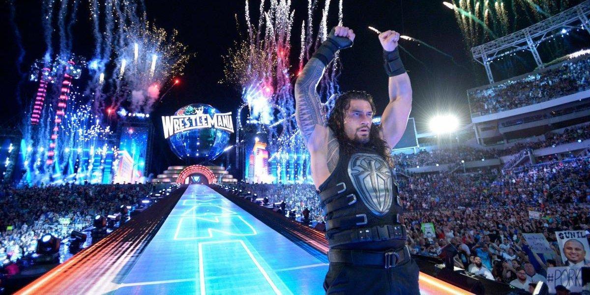Roman Reigns at WrestleMania 31