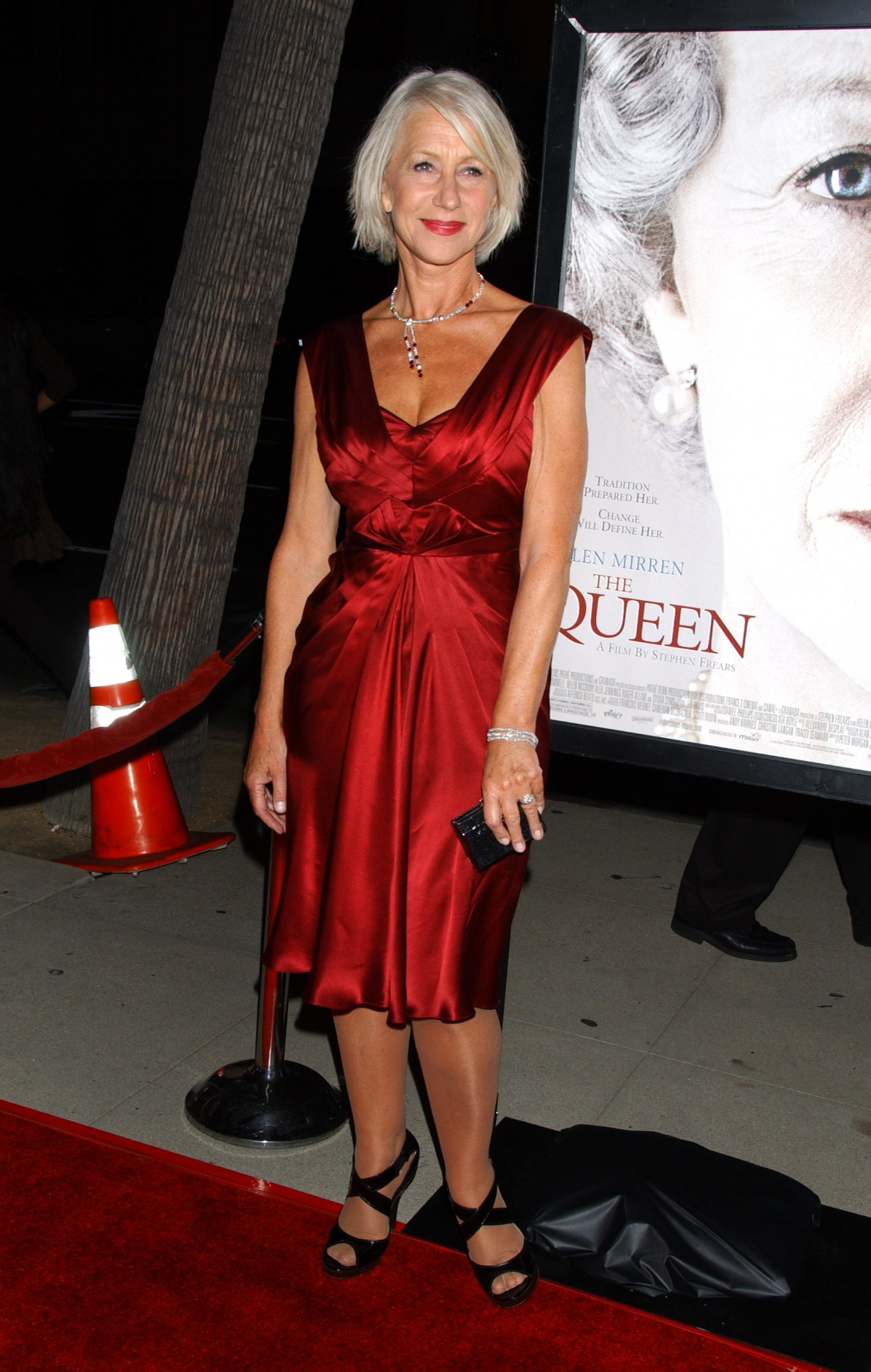 Helen Mirren at the LA premiere of The Queen in 2007