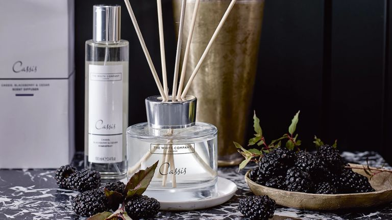 Cassis reed diffuser from The White Company