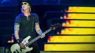 The Guns N' Roses bass ace talks technique, honing his sound and new solo album Tenderness