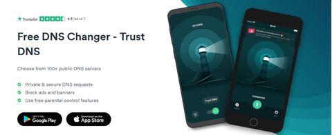 Surfshark Trust DNS app