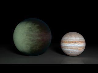 Alien Planet Kepler-7b