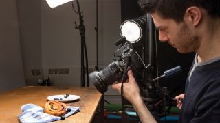 Home photography ideas: Use a shift lens for sharper food and product shots