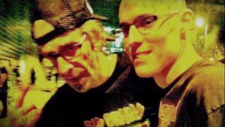 Randy Blythe and Wayne Ford