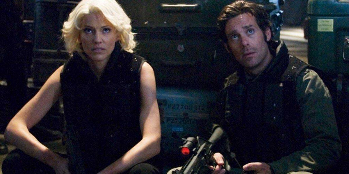 Tricia Helfer, James Callis - Battlestar Galactica