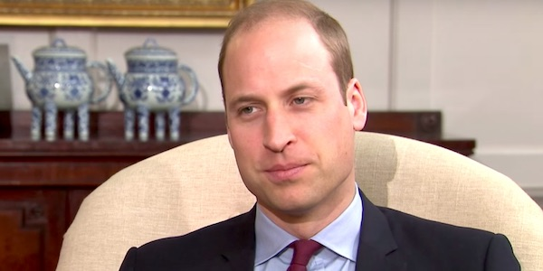 Prince William sad interview in 2017