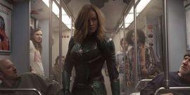 Brie Larson's Captain Marvel Stunt Double Shared Epic Concept Video