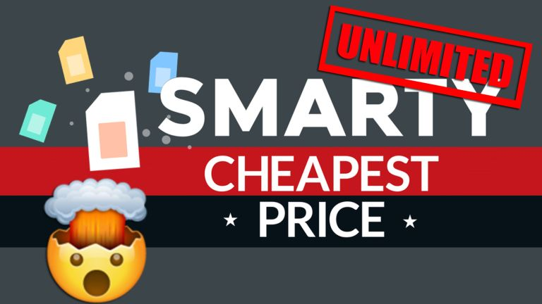 SIM only deal Smarty Unlimited