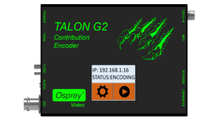 Osprey Video Shipping Talon G2 One-Touch HD Streaming Encoder