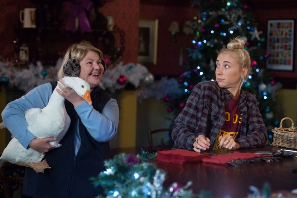 Aunt Babe brings a surprise guest into the Vic, but Maddy Hill is not impressed