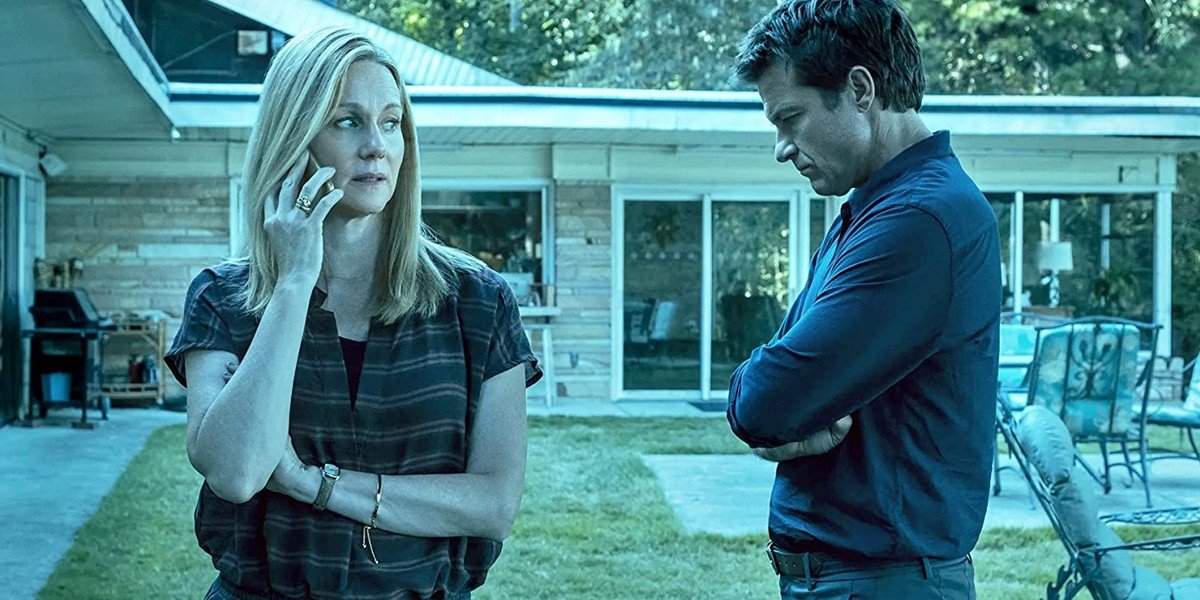 Laura Linney and Jason Bateman as Wendy and Marty in Ozark