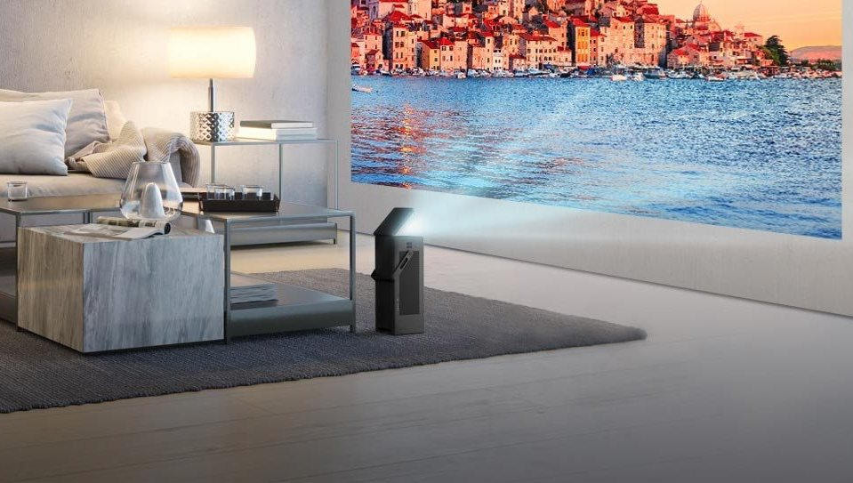 LG CineBeam HU80KSW 4K projector