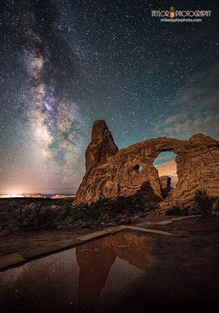 Turret Arch Reflections Image
