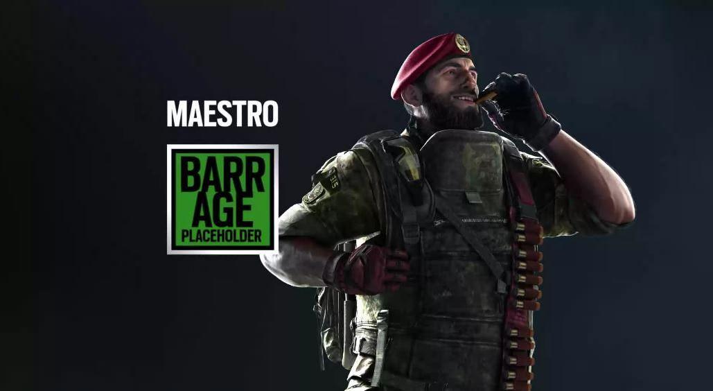 Rainbow Six Siege's new Italian operators have leaked onto