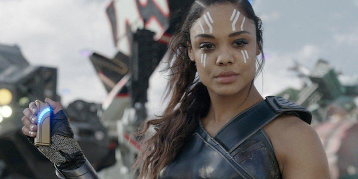 Tessa Thompson as Valkyrie in Thor: Ragnarok.