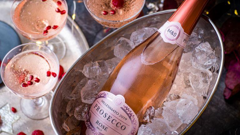M&S Rosé Prosecco