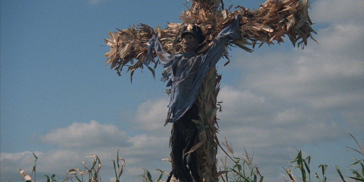 Children of the Corn man in blue