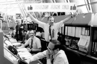 NASA Test Director Norm Carlson