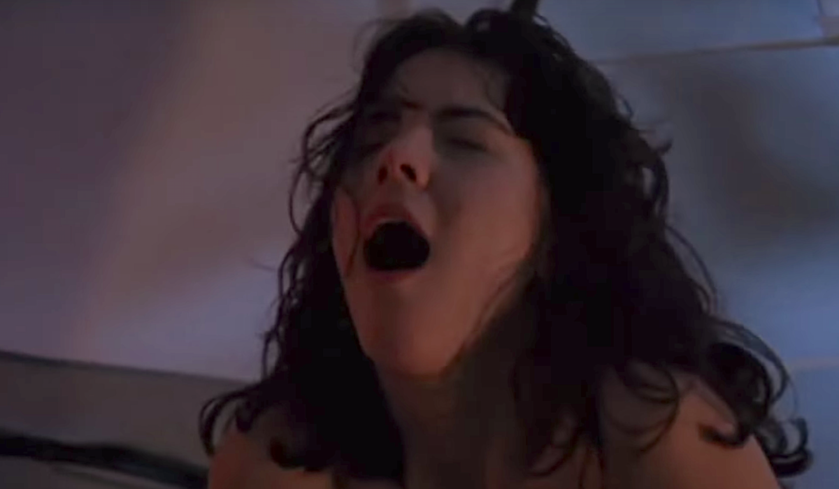 friday the 13th part VIII woman in tent cut in half