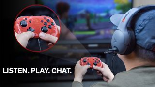 New officially licensed Switch controller will make talking in-game way easier