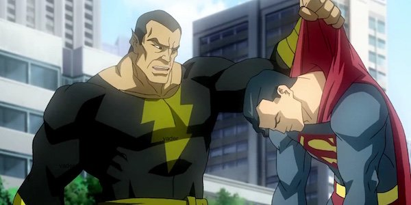 Black Adam and Superman