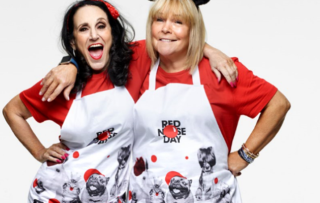 lesley joseph, linda robson, red nose day