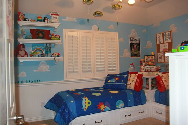 Toy Story See This Mom S Perfect Recreation Of Andy S Room
