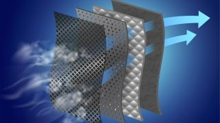 Filters inside air purifiers remove certain size particles from the air.