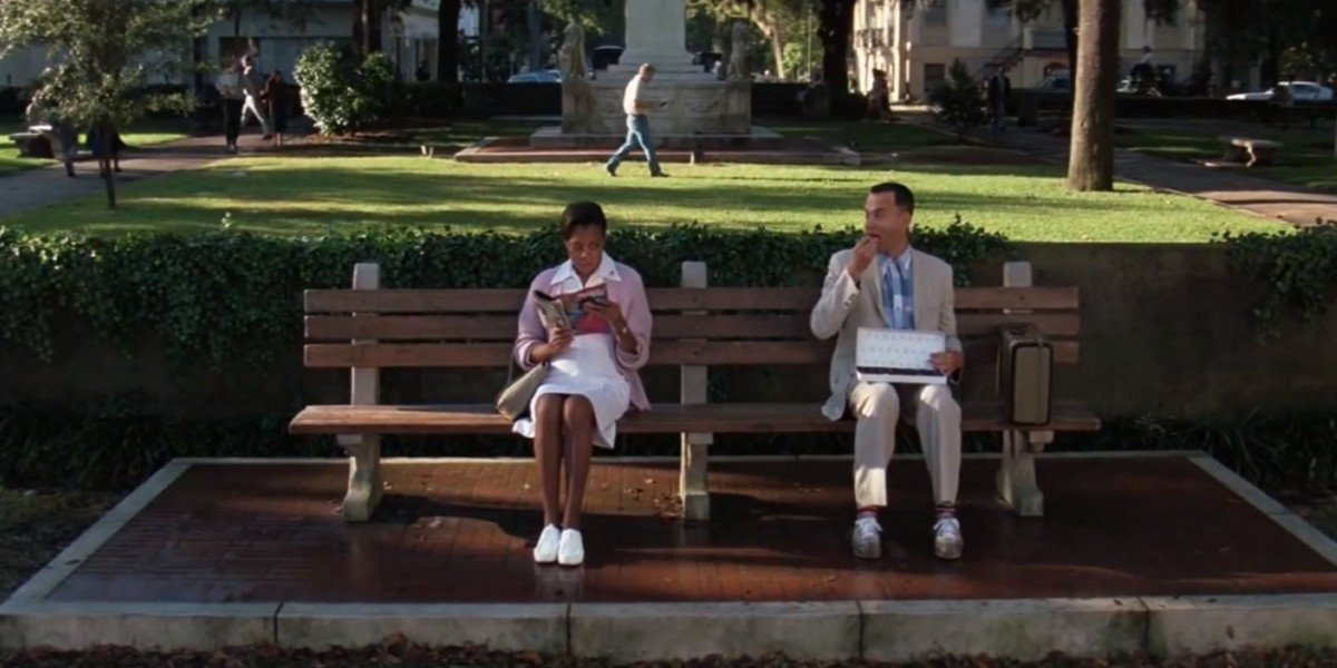 Scene with Tom Hanks From Forrest Gump