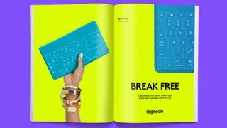 Logitech's new logo looks to the Futura