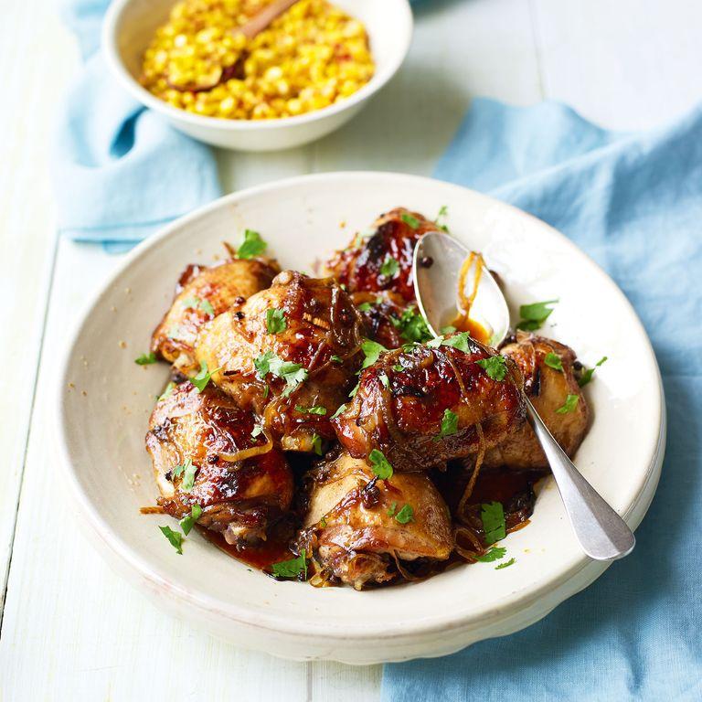5-Spice Chicken With Stir Fried Sweetcorn