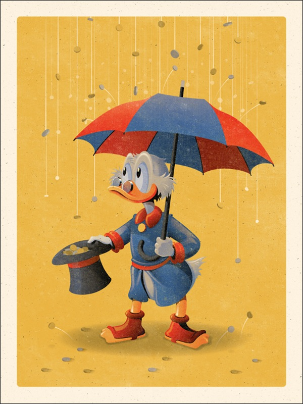 Mondo Duck Tales Posters
