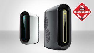yabo22vipPC玩家最好的游戏PC购买指南标题与两个戴尔Alienware PC推荐的徽章