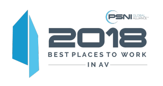 2018 Best Places to Work in AV