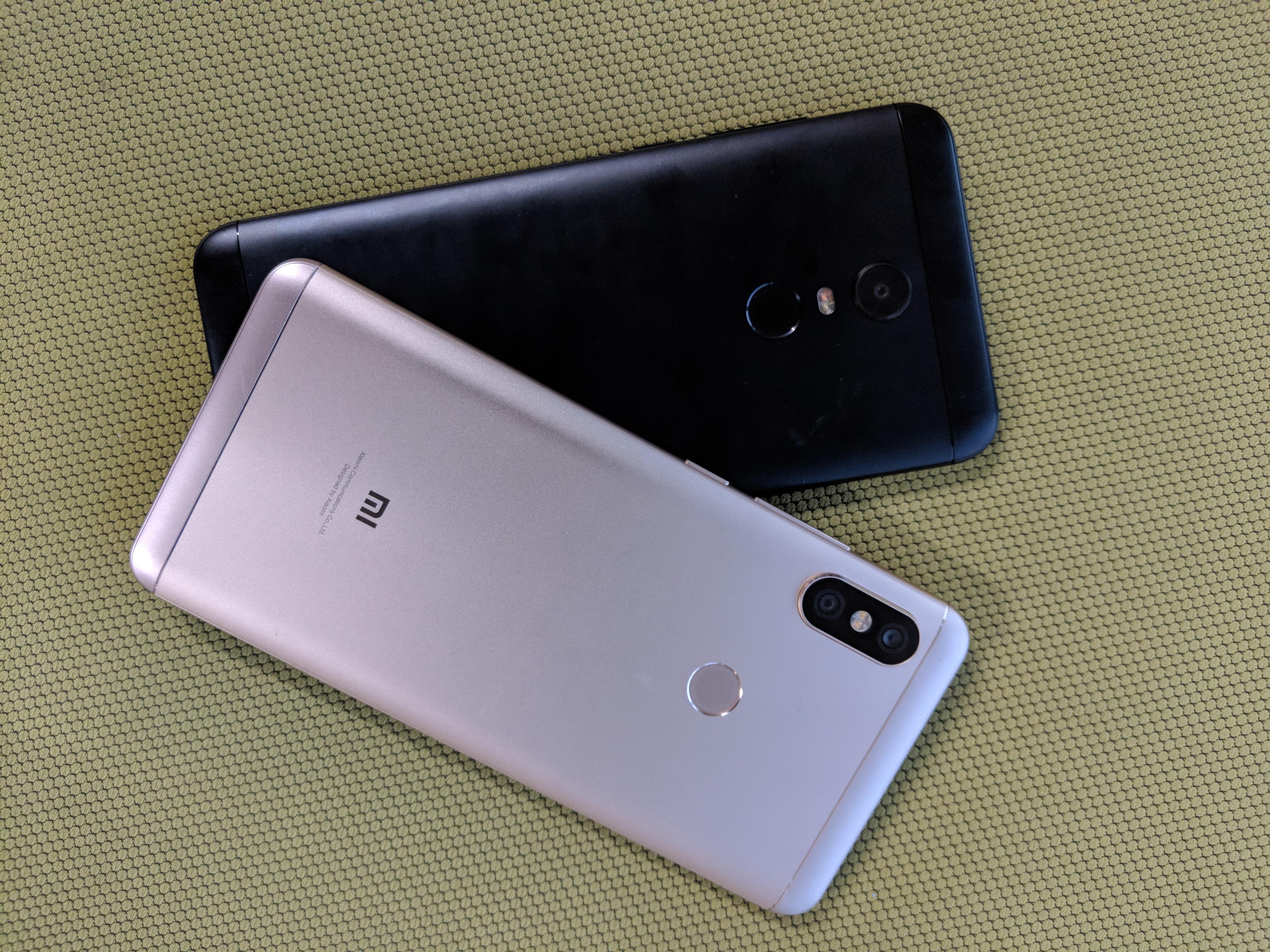Comparison: Xiaomi Redmi Note 5 vs Redmi Note 5 Pro | TechRadar