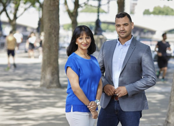 Ranvir Singh and Michael Underwood