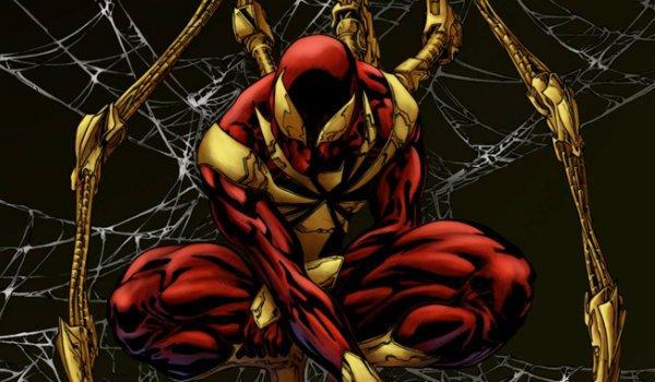 Iron Spider costume spider-man