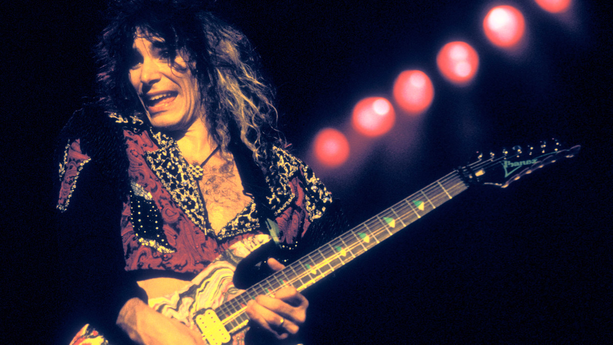 30-day guitar challenge, day 28: See if you can handle these slippery Steve Vai riffs and licks