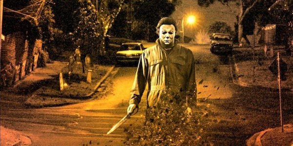 first look at michael myers mask in the new halloween movie
