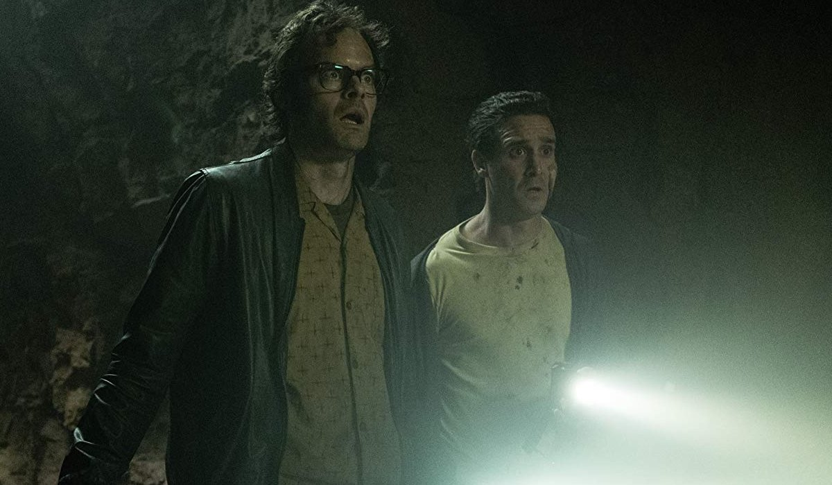 IT Chapter Two Richie and Eddie looking at something scary